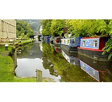 The Rochdale Canal Photographic Print