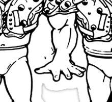 The Legion of Doom/The Road Warriors Sticker
