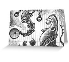 Diagnosis spotty... Greeting Card