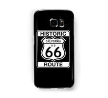 Historic Route 66, California Samsung Galaxy Case/Skin