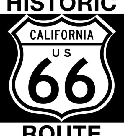 Historic Route 66, California Sticker