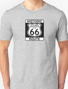 Historic Route 66, California Unisex T-Shirt