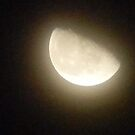 Moon on One Cloudy Night by Navigator
