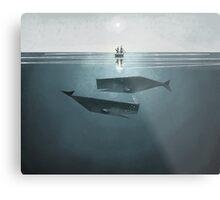 At sea. Metal Print