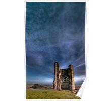 Hadleigh castle, Essex Poster