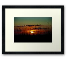 The Hope That Ends Disaster Framed Print