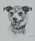 A Terrier's Nightmare by Pam Humbargar