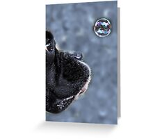 It's A Bubble -Boxer Dog Series- Greeting Card