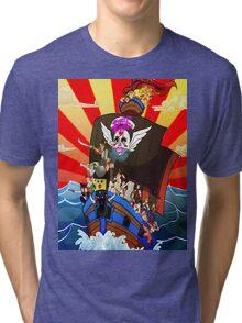 Street Fighter Girls Tri-blend T-Shirt