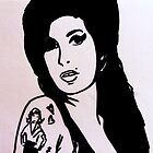 Amy Winehouse by Sukhwinder Flora