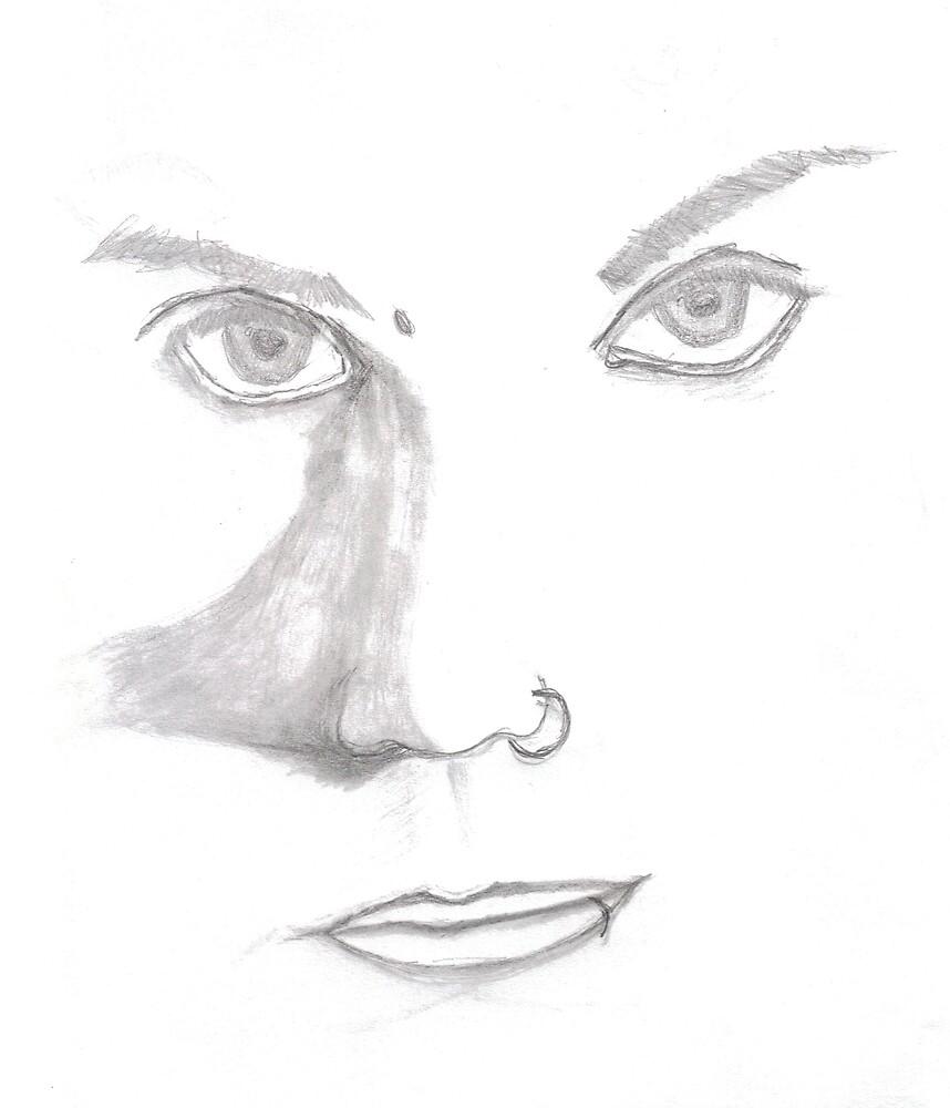 Piercing Eyes by mnwagner