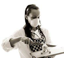 Crazy cheff & poor rabbit;) by RadioN