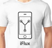iFlux Black (large image) Unisex T-Shirt