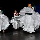 Latin American Dancers by Peter Hammer