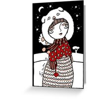 Lumi Olento (Hear no Evil) Greeting Card