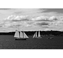 Passing Ships Photographic Print
