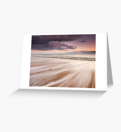 Hayling Streaks Greeting Card