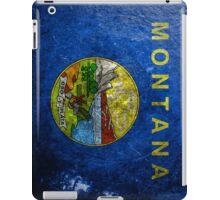 Montana Grunge iPad Case/Skin