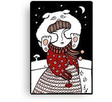 Lumi Olento (See no Evil) Canvas Print