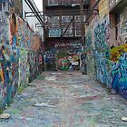 graffiti Warehouse by capizzi