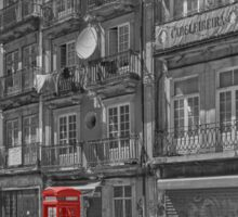 Porto phone box Sticker