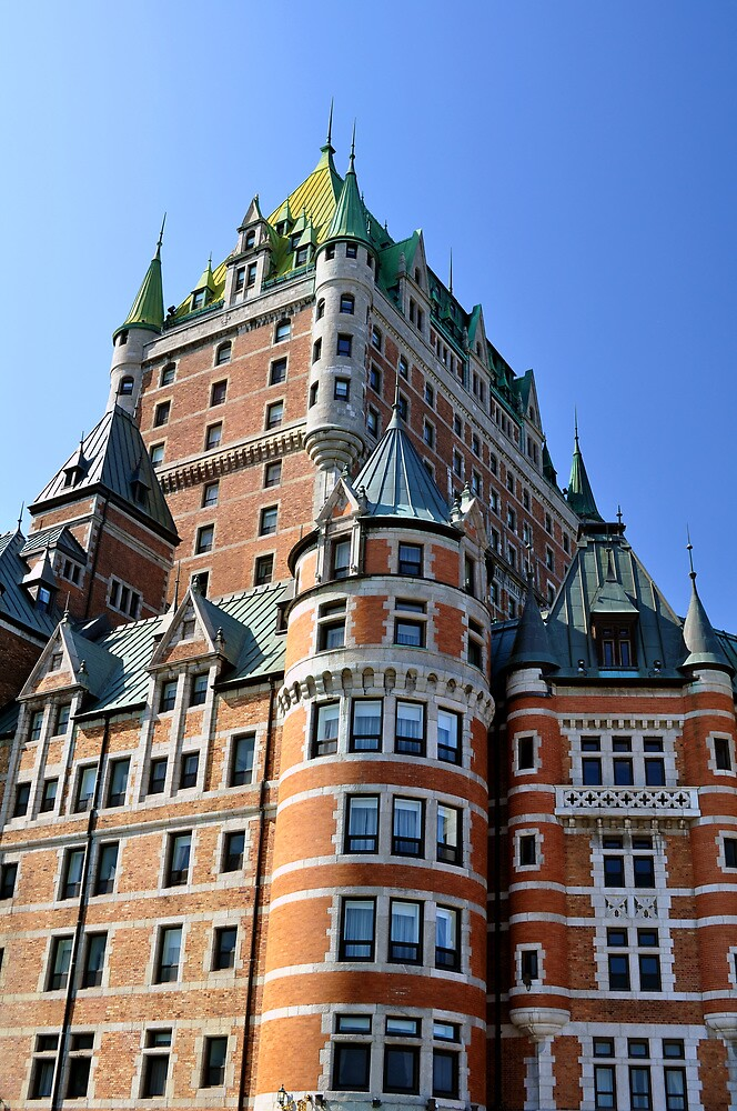 Chateau Frontenac. by FER737NG
