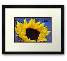 Artist Series/Ode to Vincent Framed Print