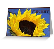 Artist Series/Ode to Vincent Greeting Card