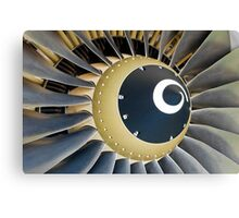 Jet engine detail. Canvas Print