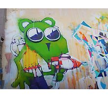 Green mouse tagger Photographic Print