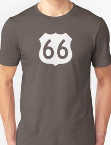 US Route 66 Sign, New Style T-Shirt