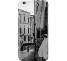 Washing Hanging in Venice iPhone Case/Skin