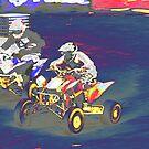ATV Racing by Karol Livote