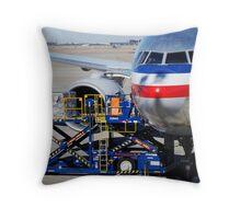 Air transportation. Throw Pillow