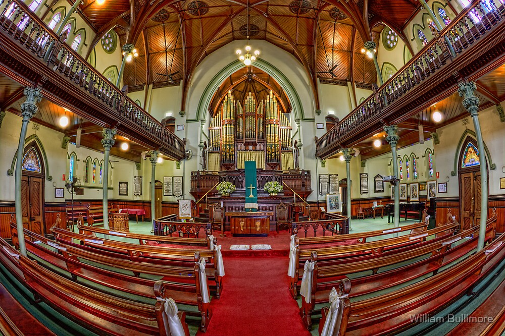 Albert St Uniting Church • Brisbane • Australia by William Bullimore