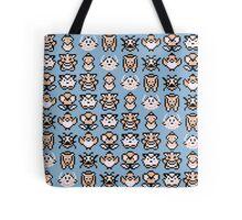 Pokémon Menu Sprites (Blue) Tote Bag