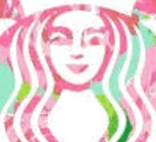 Lilly Starbucks Sticker