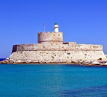 Fort Saint Nicholas, Rhodes, Greece. by FER737NG