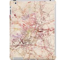 Poznan map watercolor painting iPad Case/Skin