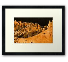 Golden Angels Of Bryce Canyon Framed Print