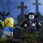 Lego Vampire  by Kevin  Poulton - aka &#x27;Sad Old Biker&#x27;