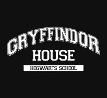 GRYFFINDOR HOUSE HARRY POTTER SCHOOL Sticker Transfer iron on Kids Clothes