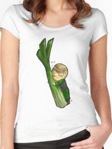Hannibal vegetables - Celery Women's Fitted Scoop T-Shirt