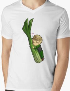 Hannibal vegetables - Celery Mens V-Neck T-Shirt