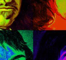 Rene Descartes - Pop Art Sticker