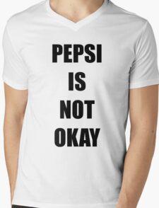Pepsi is not okay Mens V-Neck T-Shirt