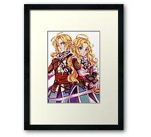 Assassins Creed 4 - Edward and Female Edward Framed Print
