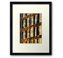 Los Angeles reflection #4 Framed Print
