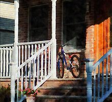 Bicycle on Porch by Susan Savad