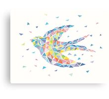 Triangled Swallow Canvas Print